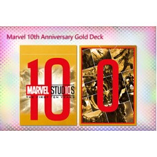 Marvel 10th Anniversary Gold Deck