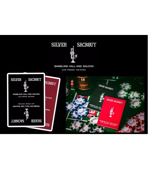 Silver Sackbut Playing Cards