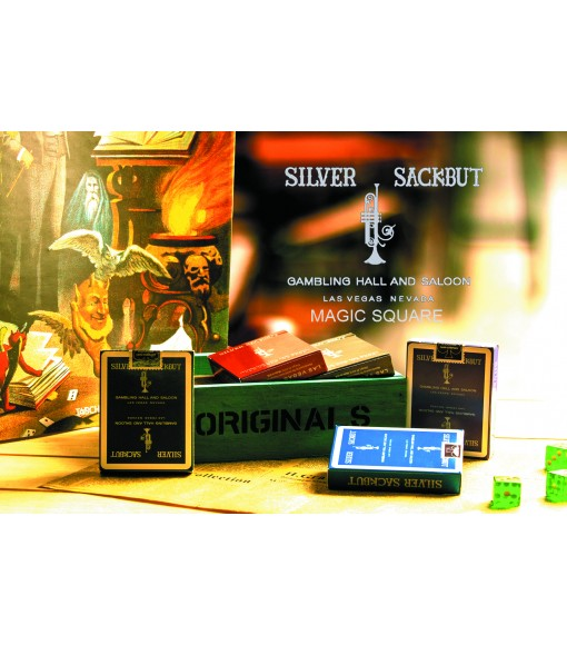 Silver Sackbut V2 Playing Cards